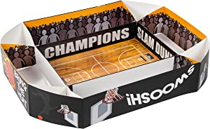 Basketball Party Supplies, Paper Snack Trays (4 x 20 x 25.5 In)