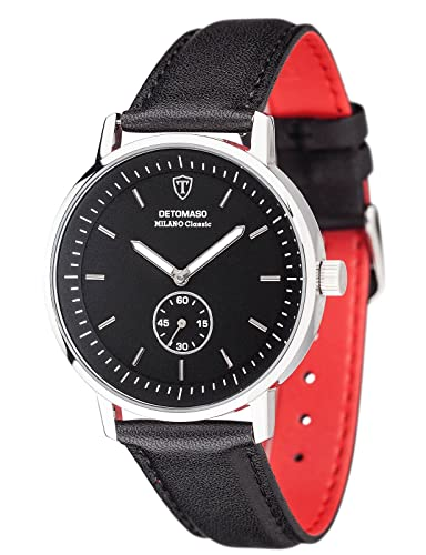 DETOMASO Reloj Forza Di Vita con Segundo Display Separado DT1072-B: Amazon.es: Relojes