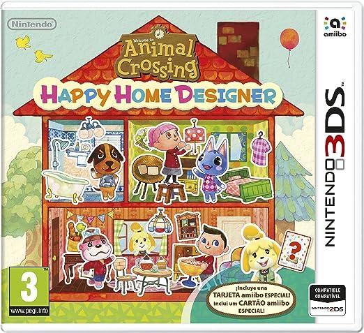 Animal Crossing: Happy Home Designer + 1 Tarjeta amiibo: Amazon.es: Videojuegos