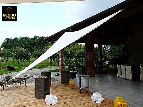 Tende A Vela Da Esterno.85509 Tenda A Vela Parasole Ombreggiante Da Giardino Resistente