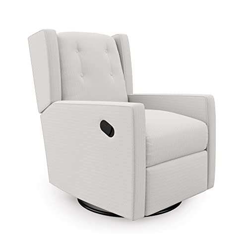 Baby Relax Mikayla Swivel Glider Chair - the best living room chair for the money