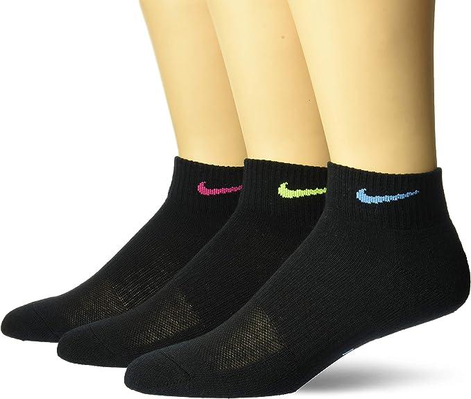 Nike Everyday Calcetines, Mujer, pack de 3: Amazon.es: Ropa y accesorios