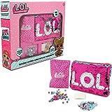 L.O.L. Sorpresa. Switch - Kit de Costura para Hacer bisutería y Bolsos de Lentejuelas para niñas LOL Dolls Confetti Pop Diva Rocker MC Swag, Color Rosa