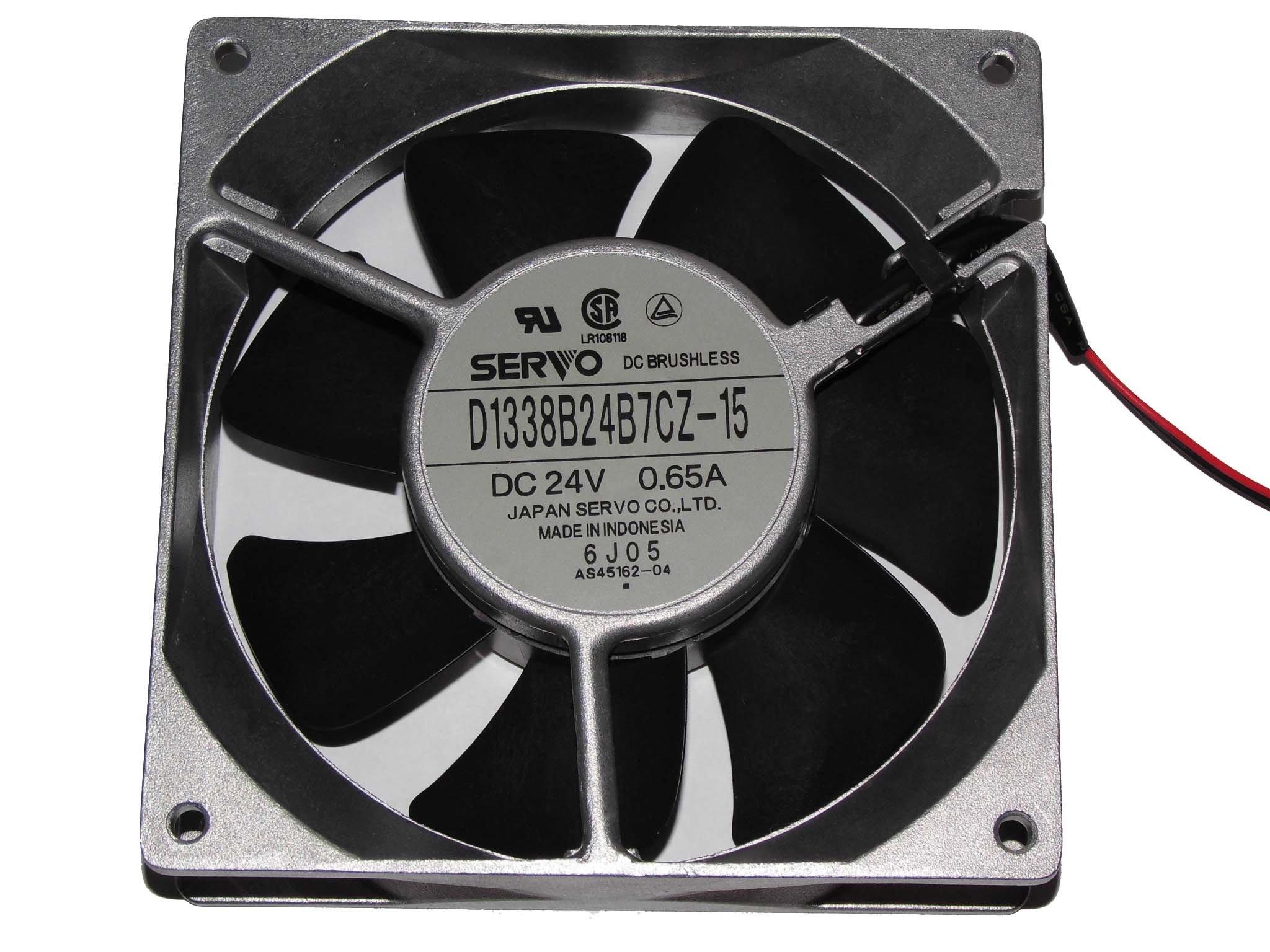 Hitachi SJ300/L300P Fan,Servo D1338B24B7CZ-15 DC24V 0.65A 2Wire frequency converter Fan