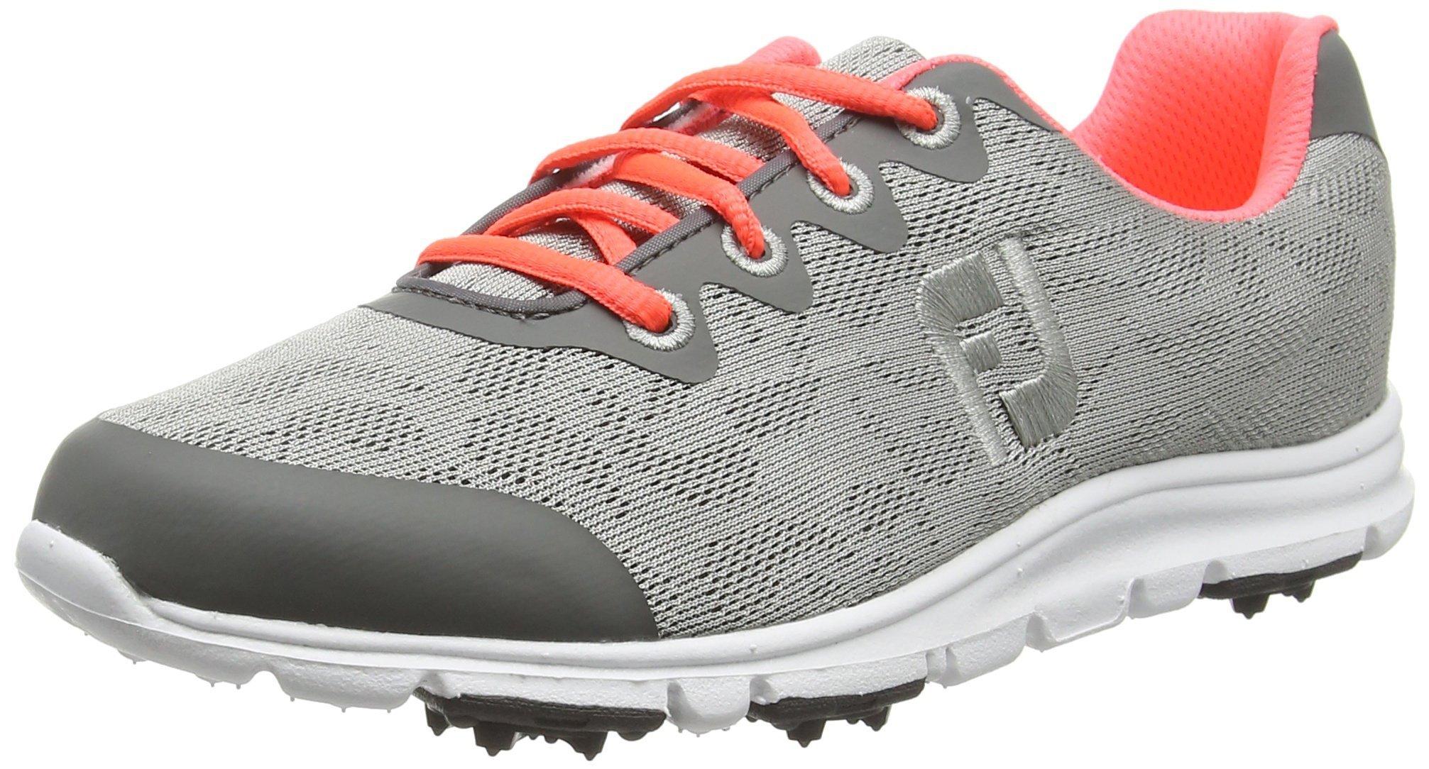 FootJoy enJoy Women's Golf Shoes 95703 Grey Mist - 7 MEDIUM