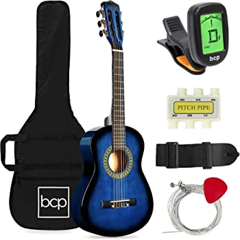 Best Choice Products 30 Inch Kid's Acoustic Guitar Beginner Starter Kit