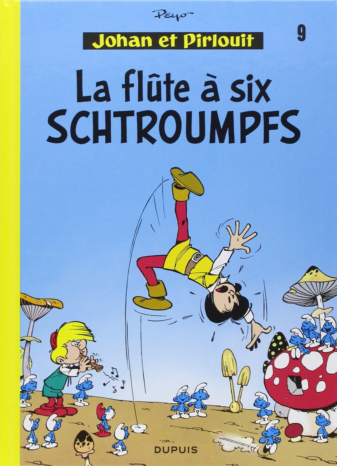 la flute a six schtroumpfs
