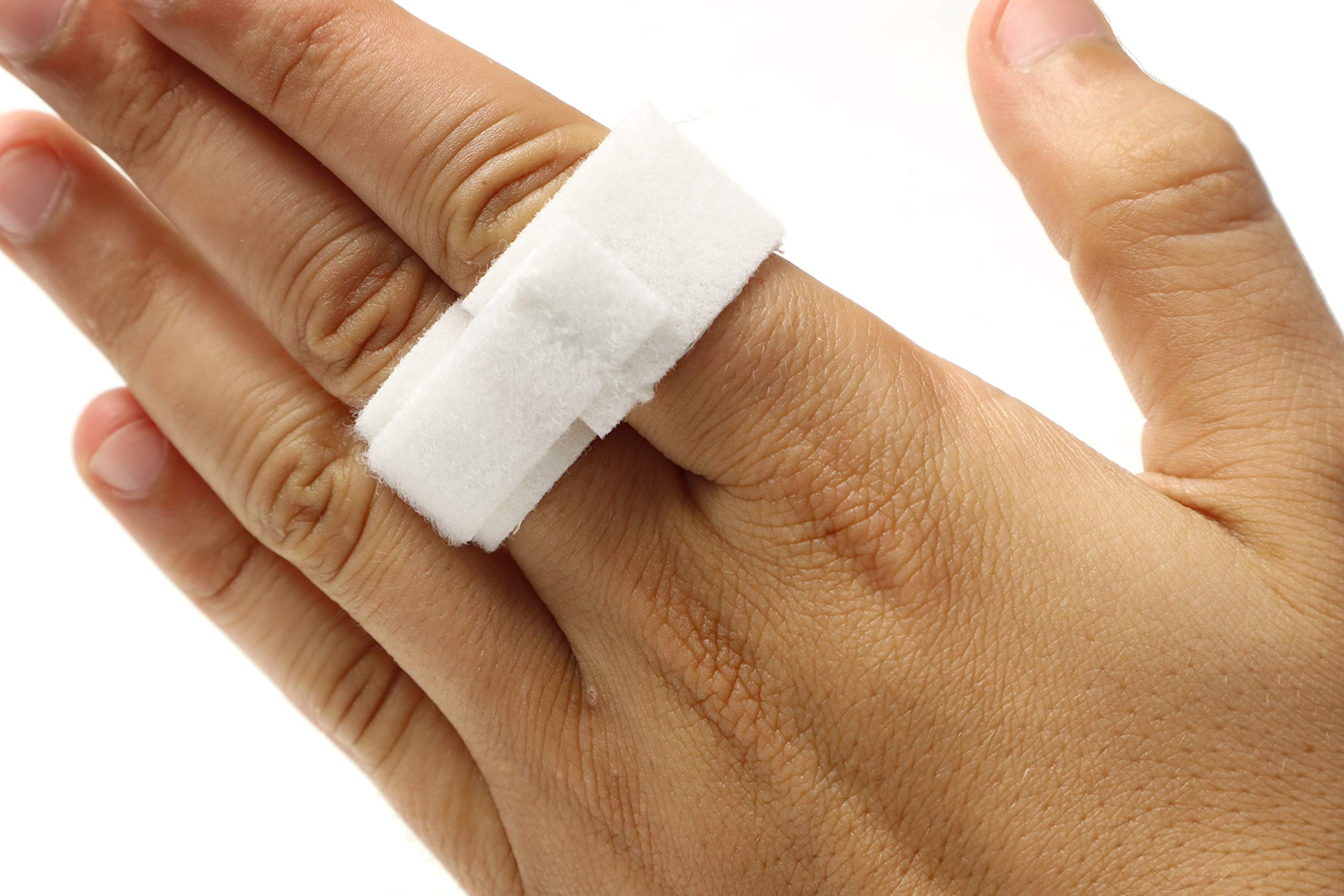 Finger Splint Buddy Tape for Jammed and Broken Fingers - 3/4'' Wide - Pack of 5