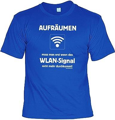 Lustiges Geschenk für Teenager T-Shirt: WLAN T-Shirt + Gratis ...