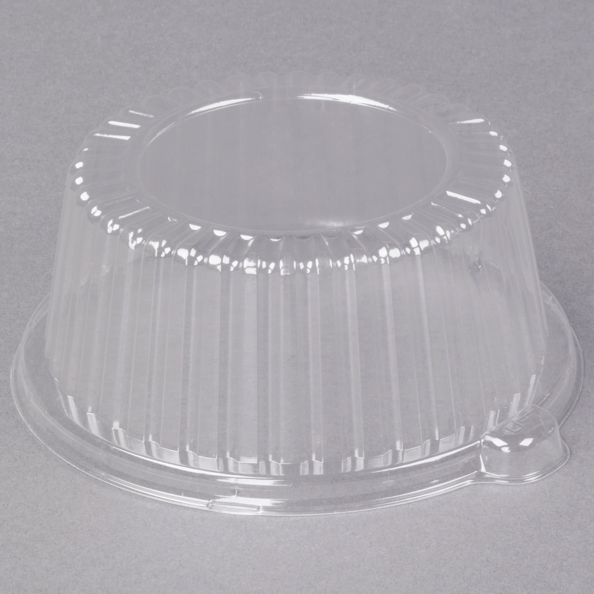 TableTop King CL6P 6'' Clear Dome Lid for Foam Dinnerware - 500/Case