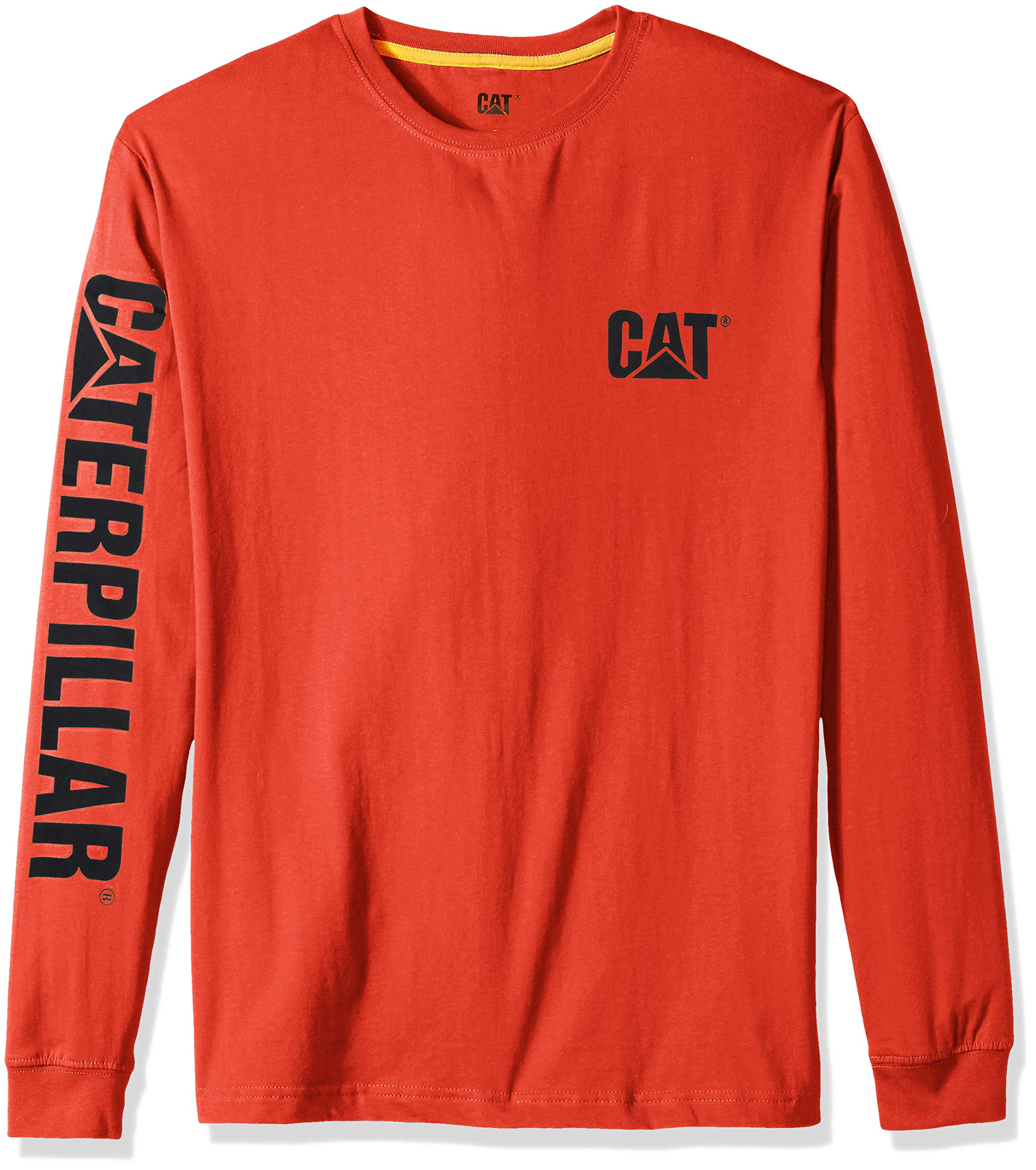 Caterpillar Mens Cat Trademark Premium Cotton T-Shirt T-Shirt