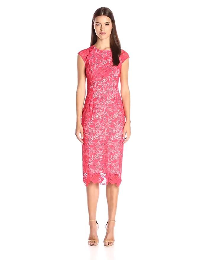 Amazon Shoshanna Womens Paisley Guipure Lace Elodie Dress