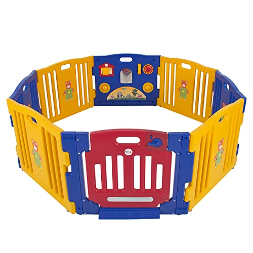 Playpen Kids 8 Panel Safety