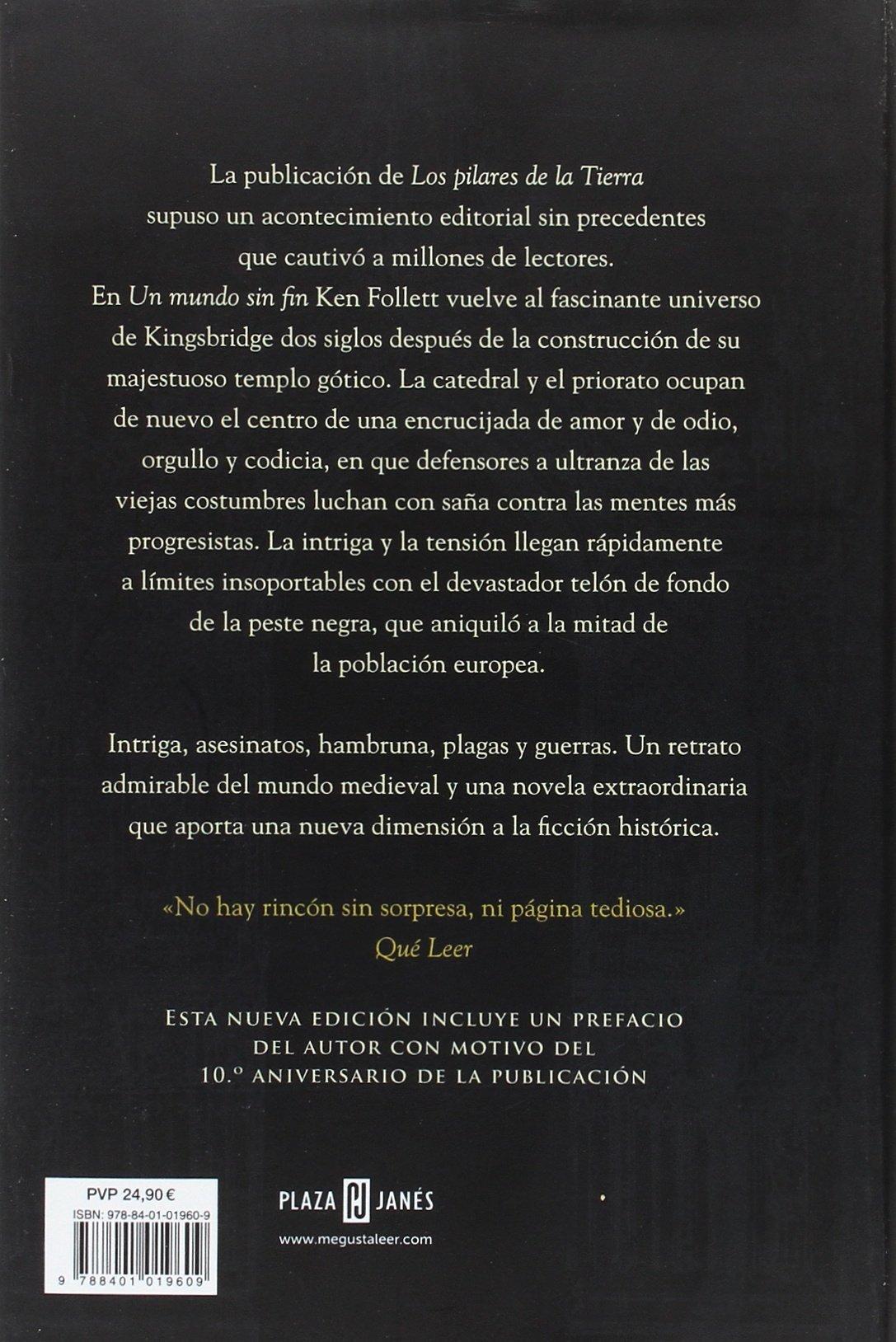 Un mundo sin fin edición 10º aniversario Saga Los pilares de la ...