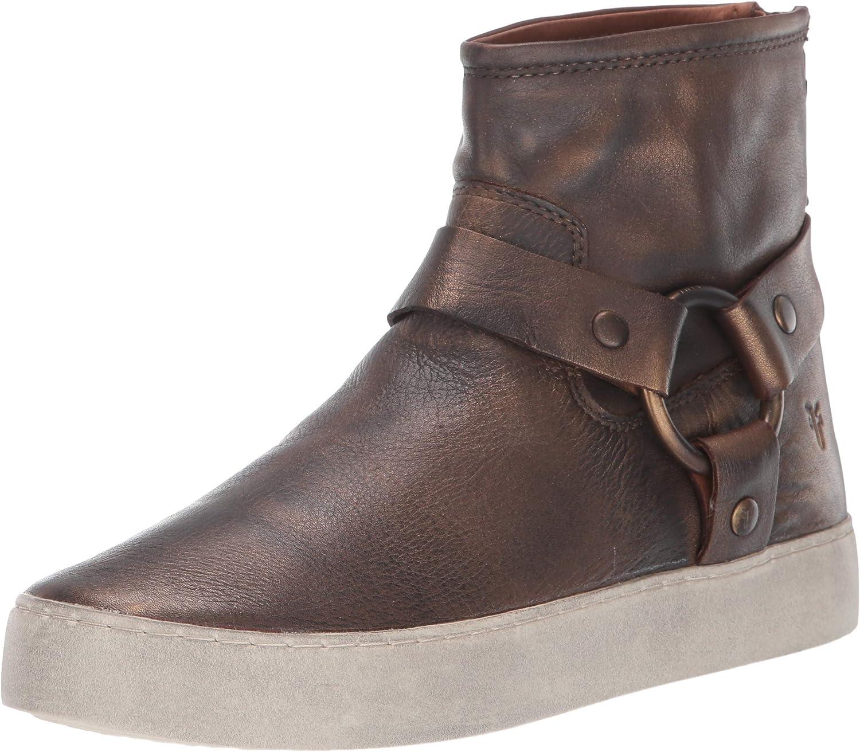 FRYE Womens Lena Harness Bootie Sneaker
