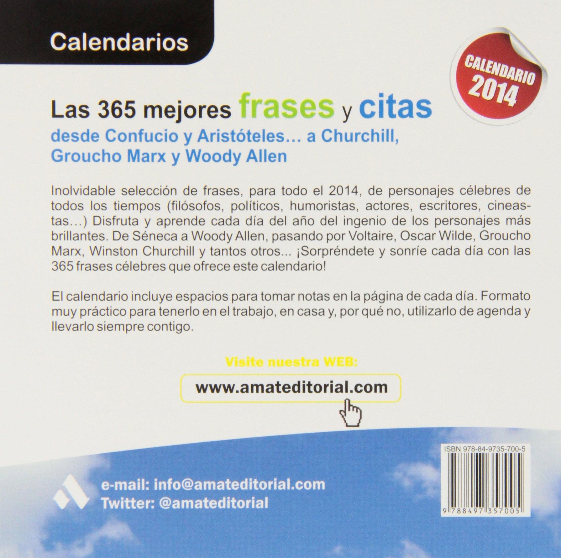 LAS 365 MEJORES FRASES Y CITAS: DESDE CONFUCIO Y ARISTOTELES ...