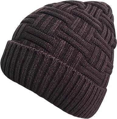 Vellette Gorros de punto Sombreros y gorras de Invierno Hombre ...