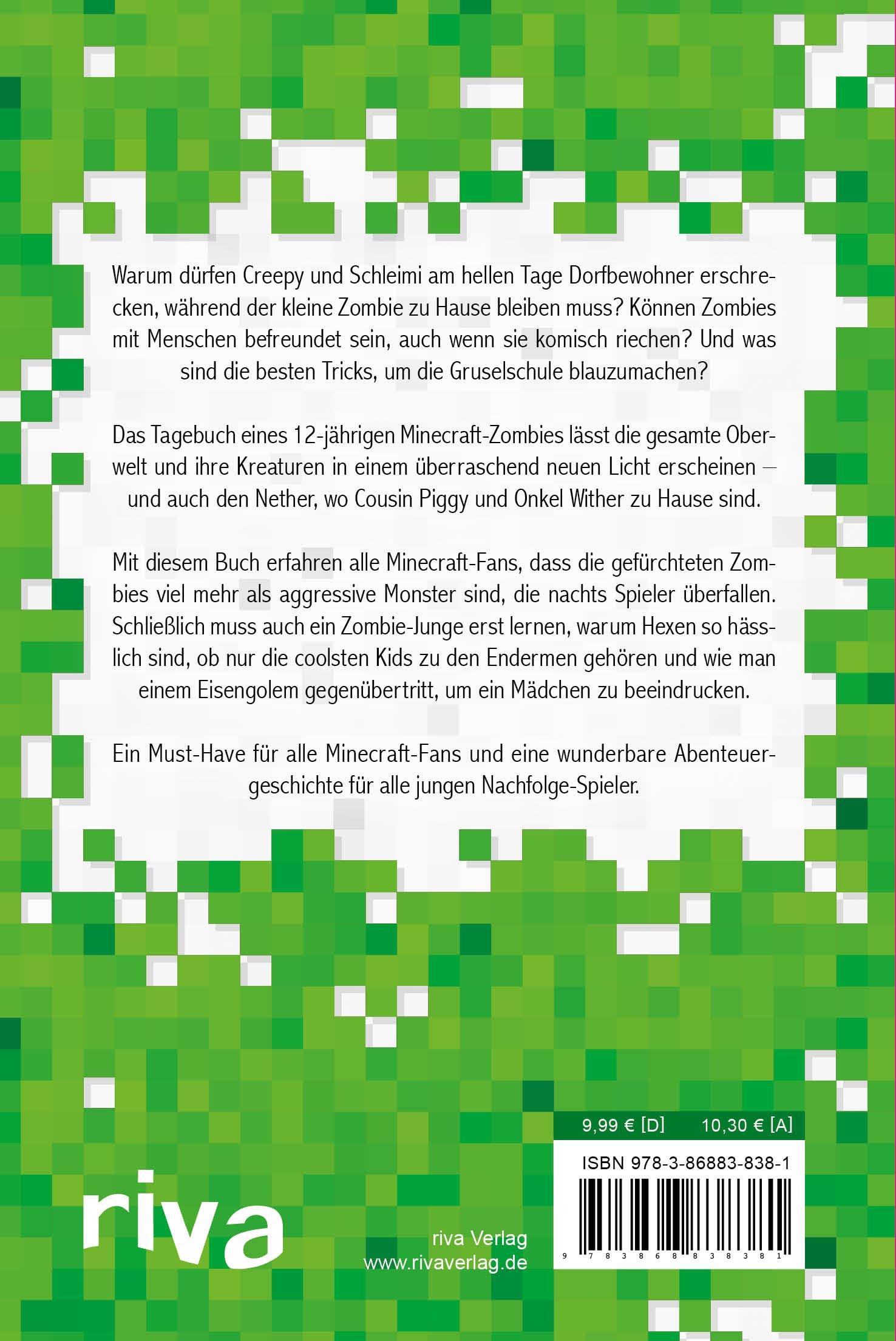 Tagebuch eines Minecraft-Zombies: Alles über meine Besuche im Nether ...
