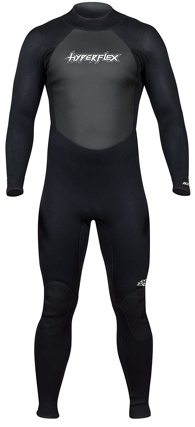 fe627fb863 Hyperflex Women's and Men's 3mm Full Body Wetsuit – SURFING, Water Sports,  Scuba Diving, Snorkeling - Comfort, Flexible, Anatomical Fit - and ...