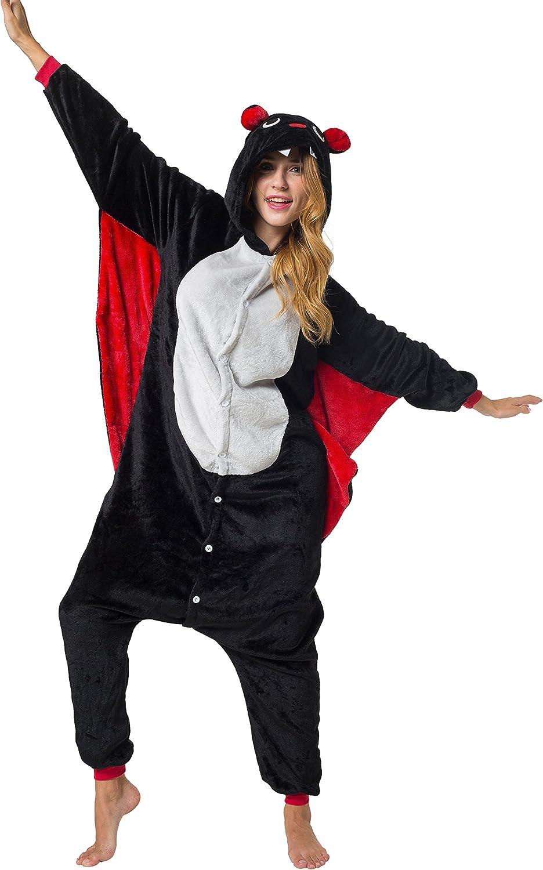Unisex Fancy Dress Overall Size S Katara 1744 Funny Bat Pyjamas For Slumber Parties or Birthdays