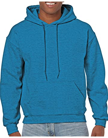 1ab0628e7a Gildan Men s Heavy Blend Fleece Hooded Sweatshirt G18500