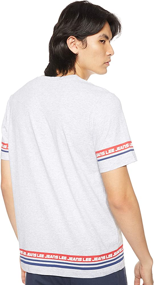 Lee Camiseta Taped Gris Hombre M Gris: Amazon.es: Ropa y accesorios