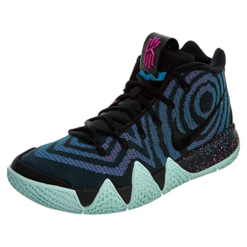 huge selection of 27e24 5c87a Nike Kyrie 4, Scarpe da Fitness Uomo, Multicolore BlackLaser Fuchsia 007,