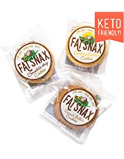Fat Snax Cookies - Low Carb, Keto, and Sugar Free (Variety Pack, 6-Pack (12 Cookies))