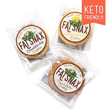 cheap Fat Snax Cookies - Low Carb 2020