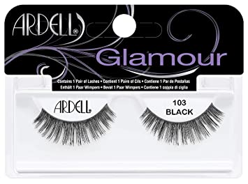 ae52862dcc4 Amazon.com : Ardell 103 Natural Lash, Black : Fake Eyelashes And Adhesives  : Beauty