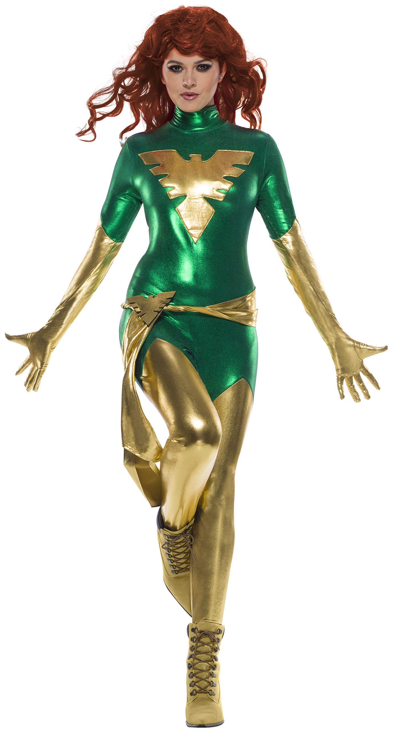 Secret Wishes Women's Marvel Universe Phoenix Costume 81w9Xm0D8FL