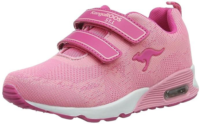 KangaROOSKanga S - Zapatillas Niñas, Color Rosa, Talla 38 EU