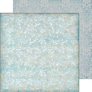 Paper Pack (16blatt 25x25cm) Frosty Winter Ice Patterns FLONZ ...