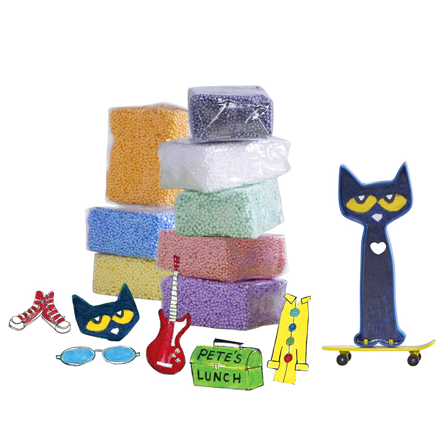 Educational Insights Pete the Cat Playfoam Play Set 1901
