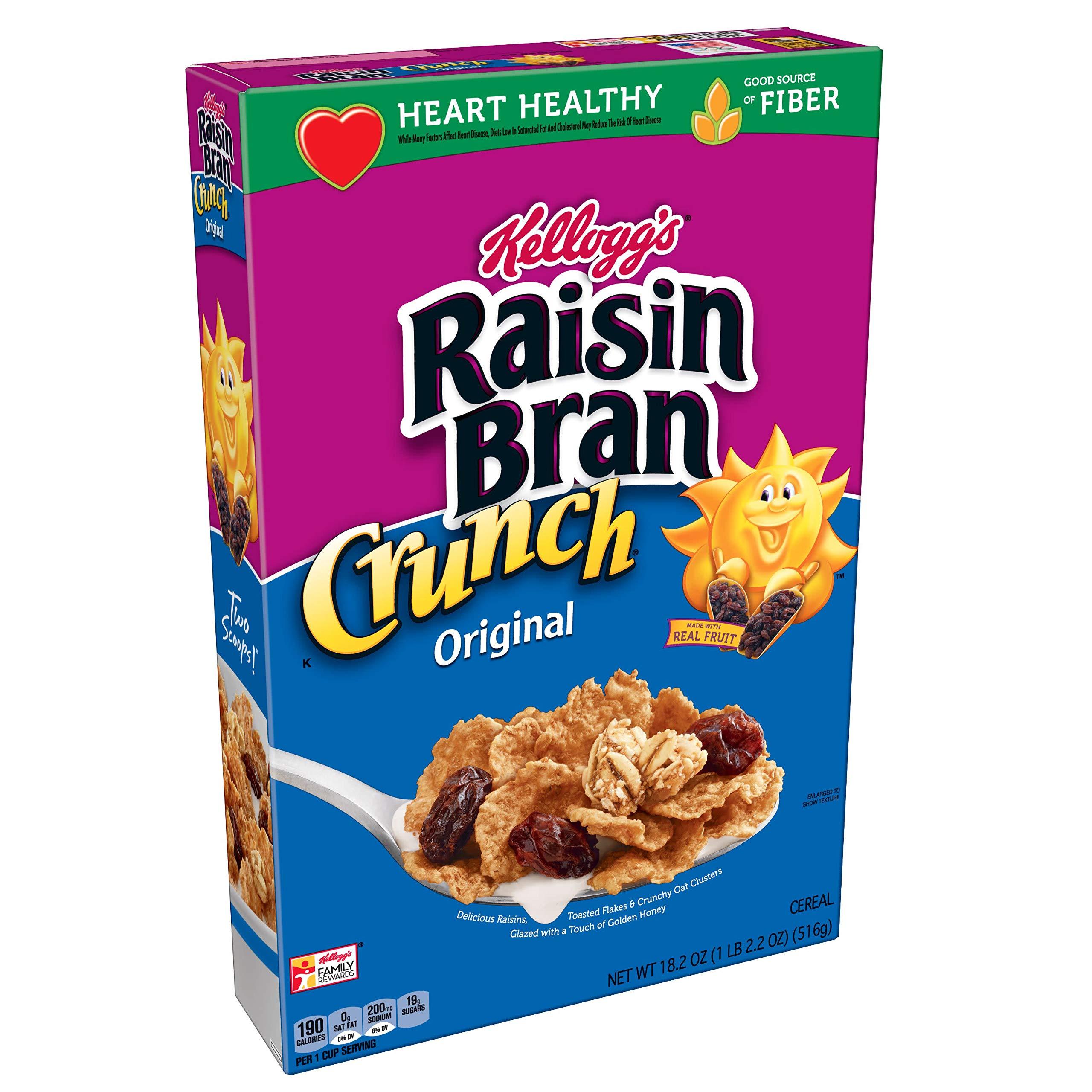 Amazon.com: NEW! Kellogg's Raisin Bran Crunch Apple
