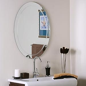 Decor Wonderland Frameless Aldo Wall Mirror