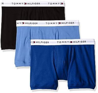 a7ffe995 Amazon.com: Tommy Hilfiger Men's Underwear 3 Pack Cotton Classics Trunks:  Clothing