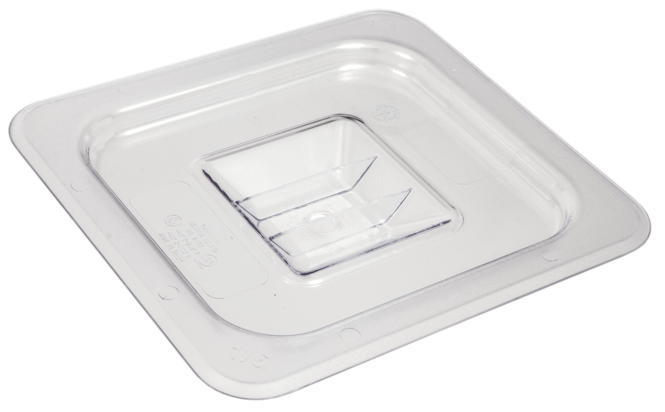 Crestware Commercial Grade, FP92, Polycarbonate Food Pan Ninth Size 2.5'', Set of 9