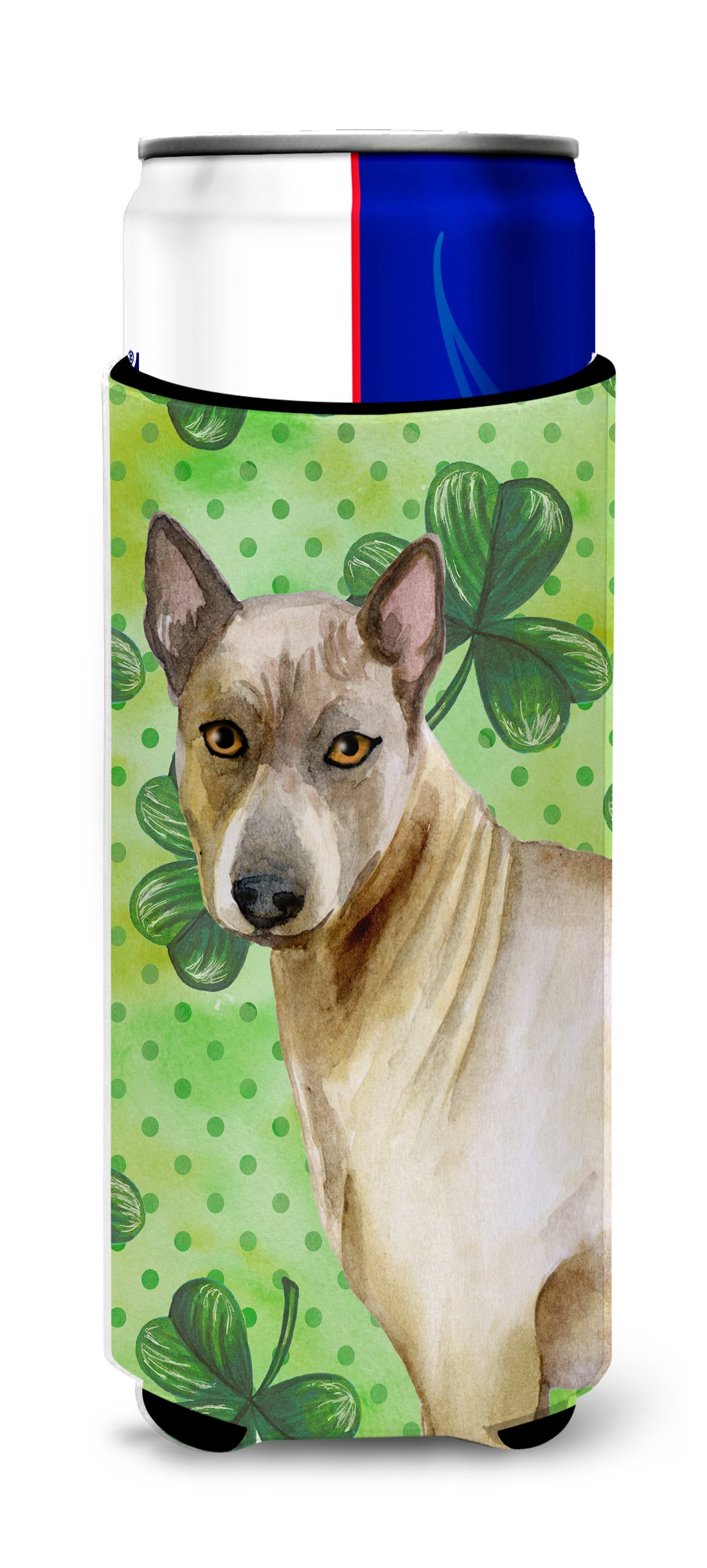 Caroline's Treasures BB9854MUK Thai Ridgeback St Patrick's Decorative Hugger, Slim Can, Multicolor
