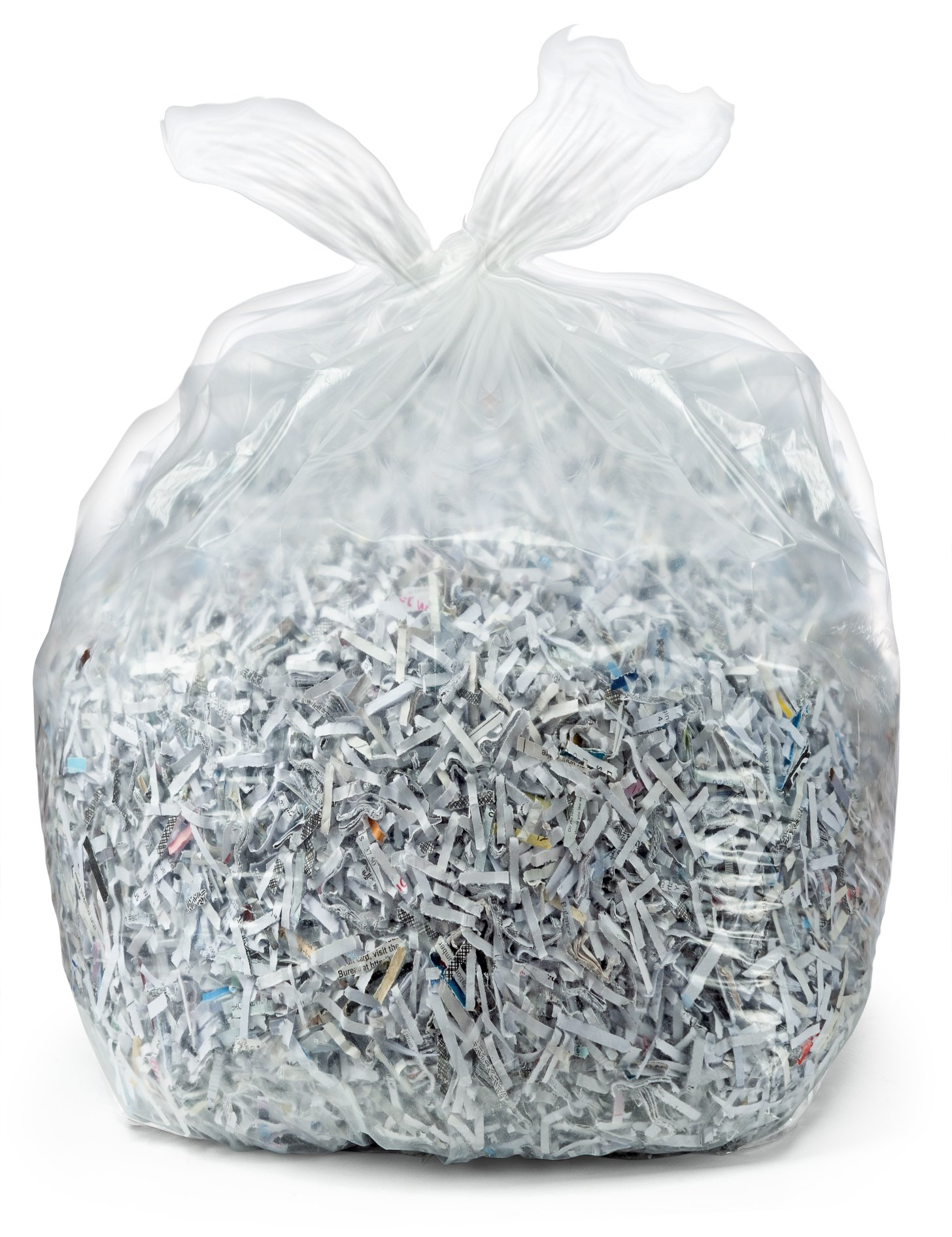 case of 100 bags Silver Plasticplace 33 Gallon Low Density Trash Bags
