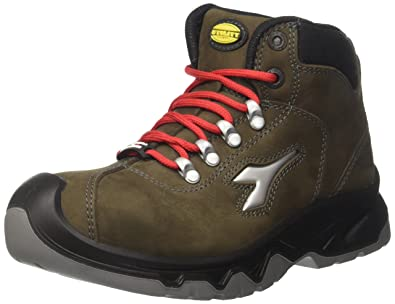 Diadora - Diablo High S3 Ci, zapatos de trabajo Unisex adulto, Verde (Verde
