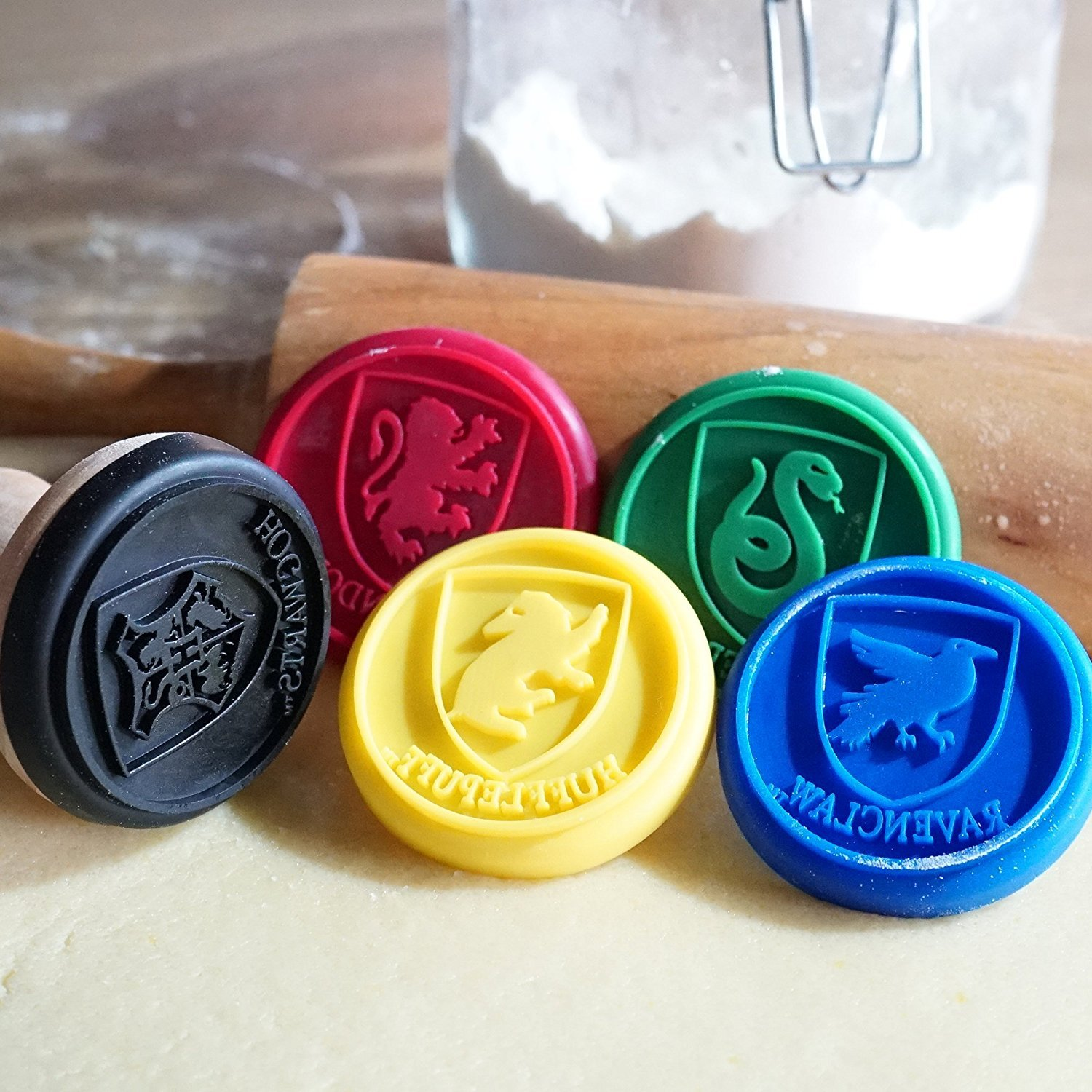 Harry Potter Cookie Stamps ● Set of 5 ● Official License by Cinereplicas