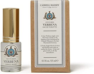 product image for Caswell-Massey Centuries Verbena Eau De Toilette Perfume Travel Spray – Floral Fragrance for Women, Made in USA – 0.5 Ounces
