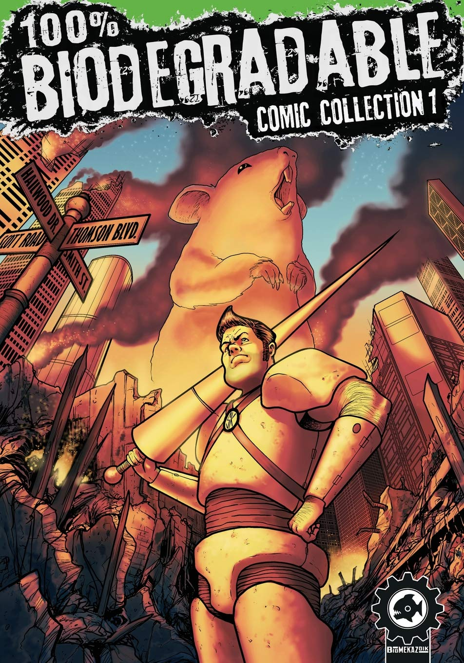 100% Biodegradable Comic Collection: An action packed sci fi ...