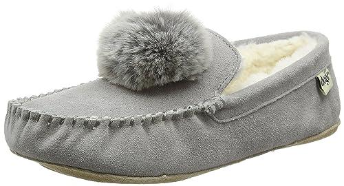 b31efdb5165b3 Lazy Dogz Women's Bessie Low-Top Slippers: Amazon.co.uk: Shoes & Bags