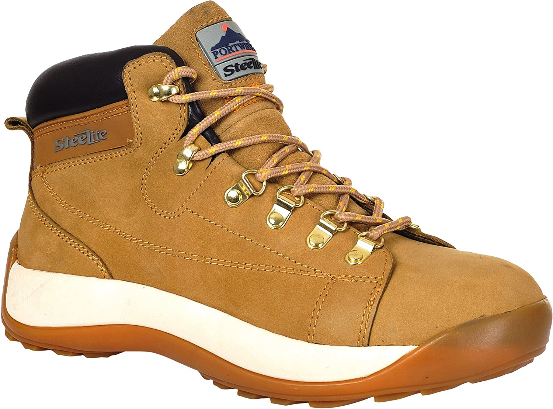 Portwest Steelite Mid Cut Nubuck Steel Toe Cap Safety Boot