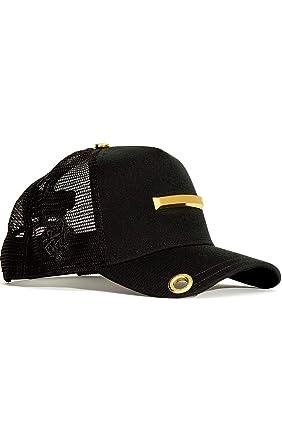 0466b389e Red Monkey Bar One New Unisex Black Fashion Trucker Cap Hat at ...