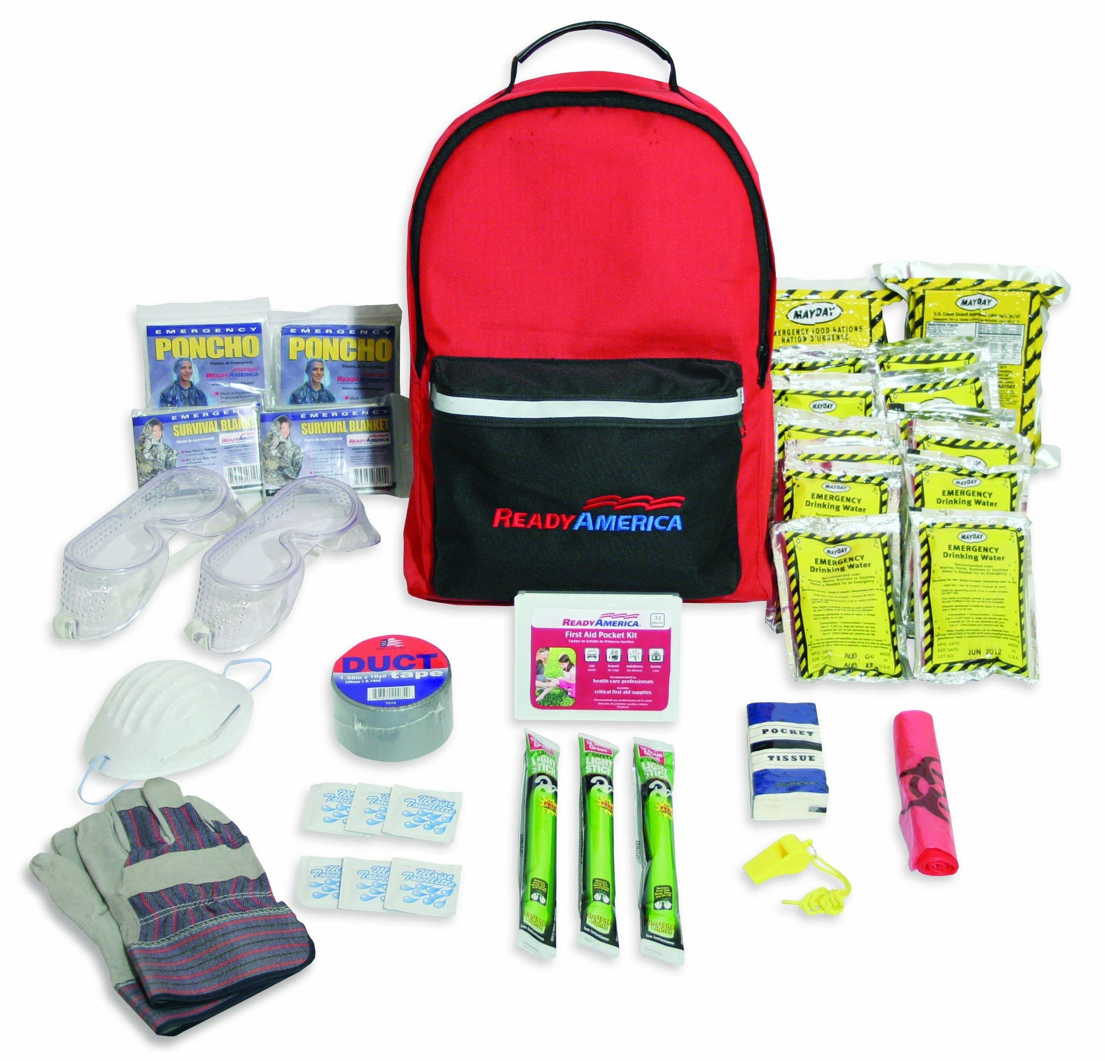 Ready America 70287 Tornado Emergency Kit for 2 Persons