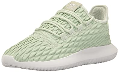 finest selection 2c29e bbe89 adidas Originals Women s Tubular Shadow Fashion Running Shoe, Linen Green  White, ((