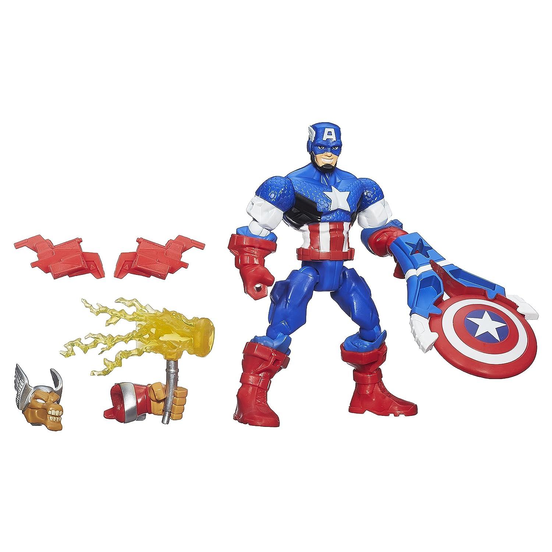 Captain America  Marvel Super Hero Mashers Pyro Figure